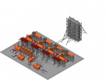Установка по переработке нефти Ц44/500(НПП ЭТН)