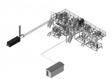 Установка по переработке нефти Ц41(НПП ЭТН)